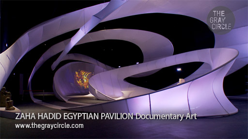 Zaha Hadid Egypt Pavilion Documentary Art - The Gray Circle 1