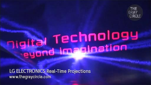 LG ELECTRONICS Real Time Projections - The Gray Circle 1