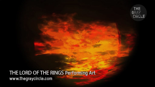 THE LORD OF THE RINGS Stage Projections - The Gray Circle