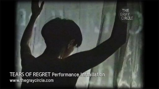 TEARS OF REGRET Performance Installation - The Gray Circle 1