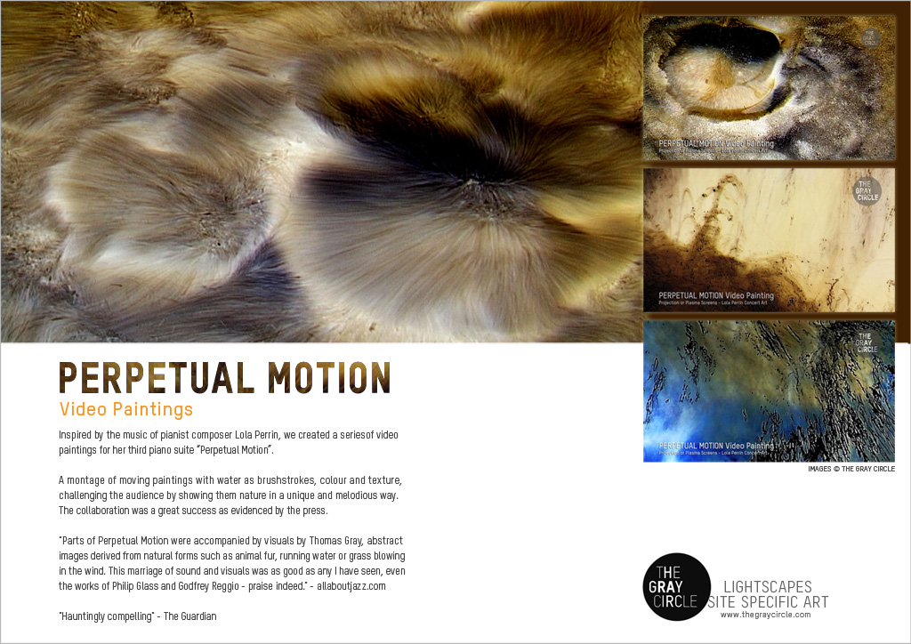 Project Spotlight: Perpetual Motion